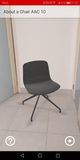 Roomle: стул