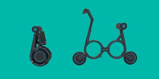 Видео дня: велосипед, помещающийся в рюкзак