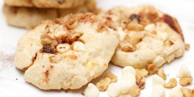 Яблочно-карамельное печенье