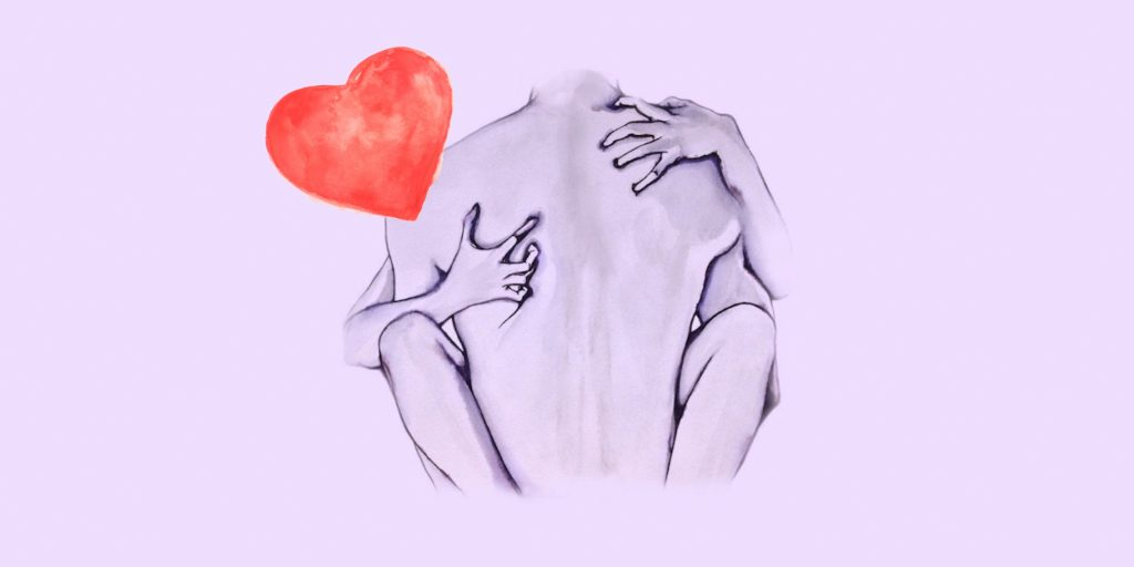 Первомаем, открытка с намеком для девушки