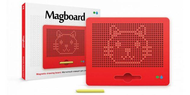 Magboard — планшет для рисования магнитами