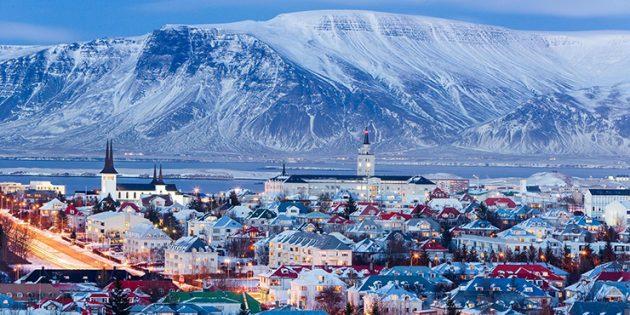 Где отдохнуть в январе: Рейкьявик, Исландия