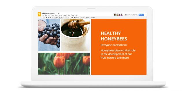 программы для презентаций: Google Slides