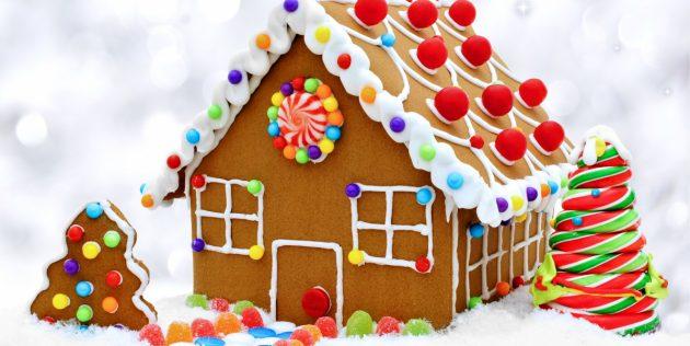 Что приготовить на Новый год: Как сделать пряничный домик, о котором вы мечтали в детстве