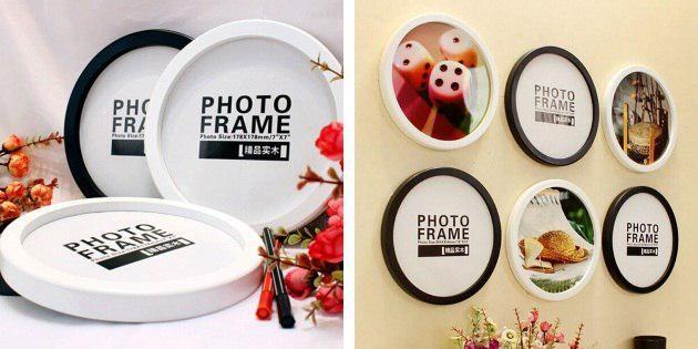 Круглые рамки для фотографий