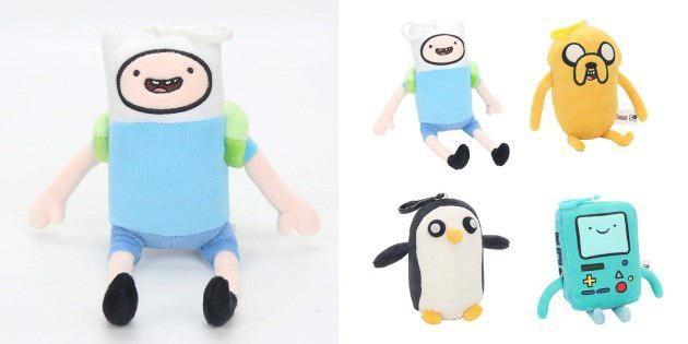 Брелоки Adventure Time