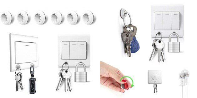 Магнитные держатели для ключей