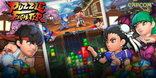Puzzle Fighter — тетрис с PvP и героями Street Fighter