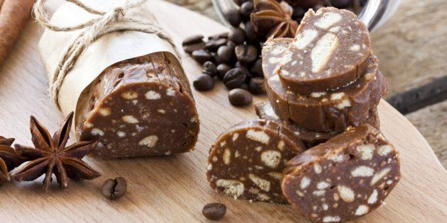 рецепты СССР: Шоколадная колбаска