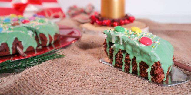 Новогодние блюда: брауни
