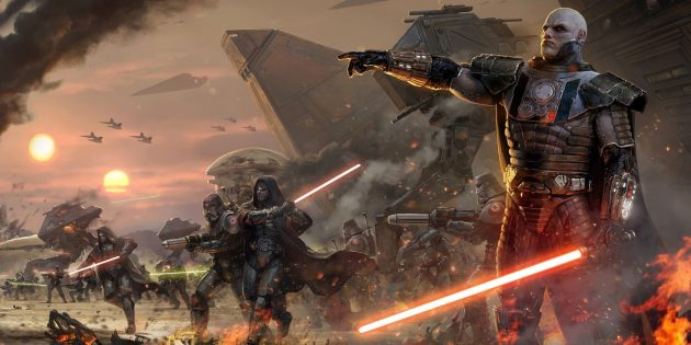 игры по Star Wars: Star Wars: The Old Republic