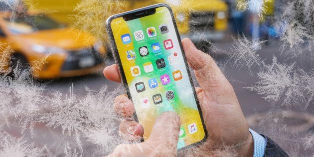 Почему iPhone выключается на холоде и как с этим бороться