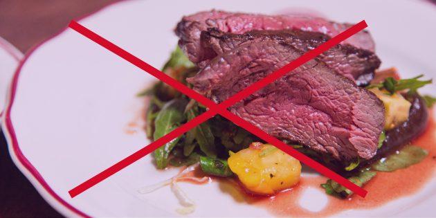 здоровый образ жизни: отказ от мяса