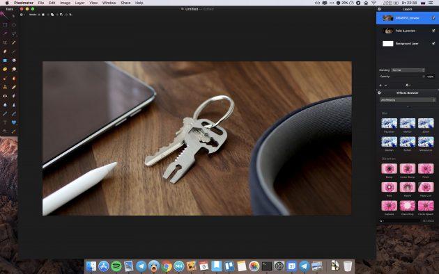 Платные программы для Mac: Pixelmator