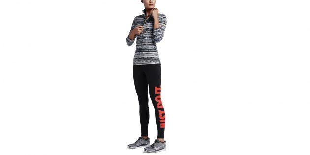Nike Pro Warm 8 Bit Half-Zip