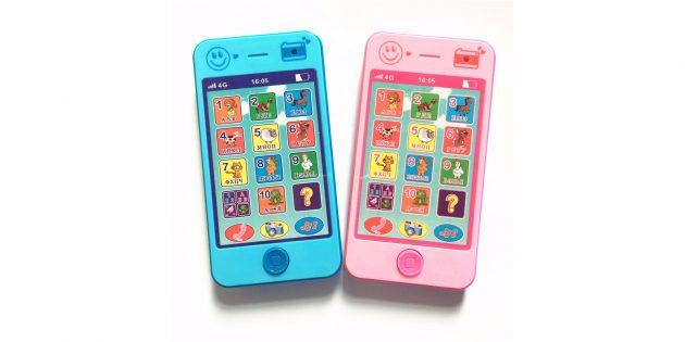 Игрушечный мобильный телефон