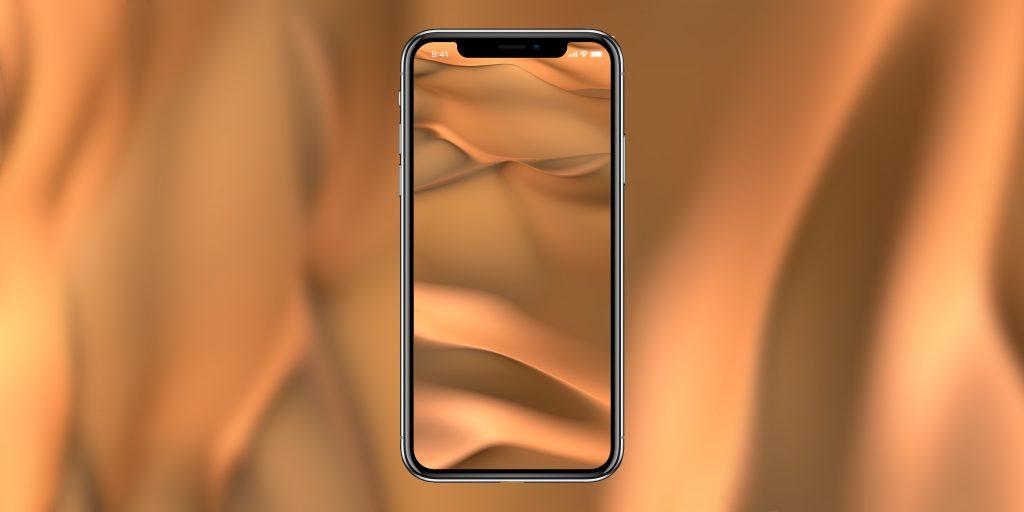 10 дизайнерских обоев для iPhone X