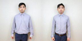 Штука дня: ZipSeam — приспособление для идеальной подгонки рубашек по фигуре