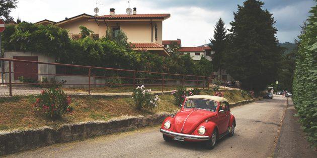 путешествие по Италии: автомобиль