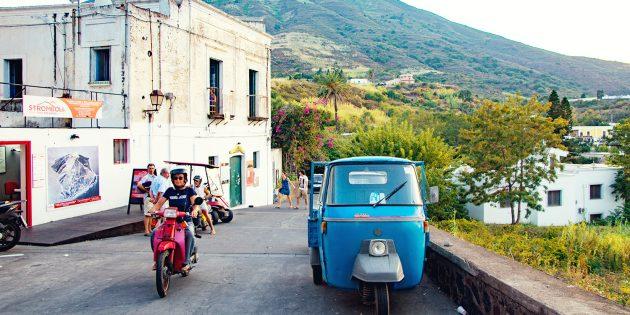 путешествие по Италии: скутеры