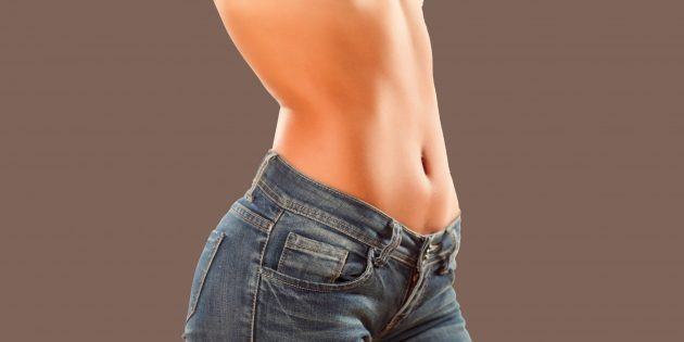 7простых способов убрать живот без диет и спортзала