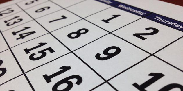 Как использовать ваше время на максимум при помощи календаря