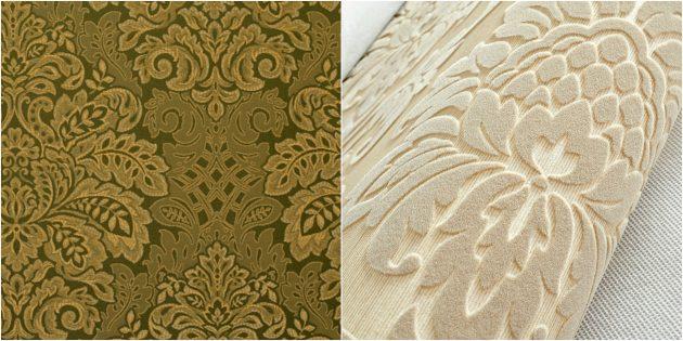 Какие обои выбрать для разных комнат: Текстильные обои