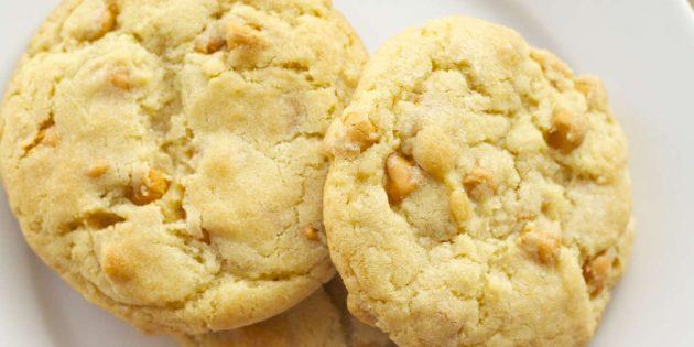 Рецепты вкусного печенья: Печенье с ирисками