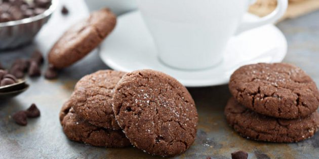 Классическое шоколадное печенье