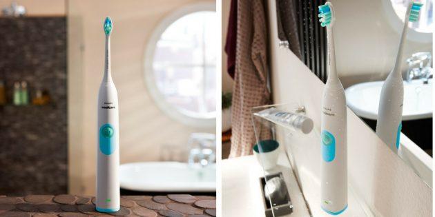 Оригинальные подарки на 23 Февраля: Электрическая зубная щетка