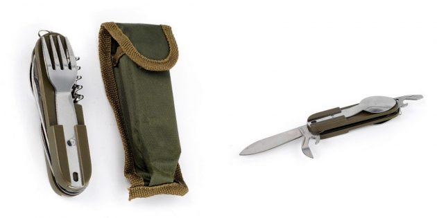 Недорогие подарки на 23 Февраля: Туристический нож
