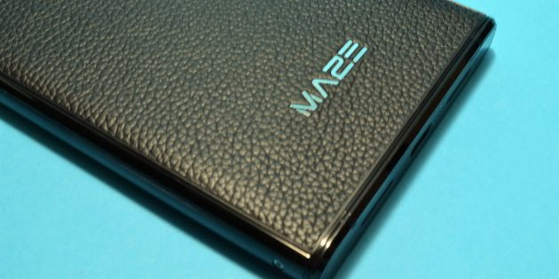 Maze Comet: кожаная задняя часть корпуса