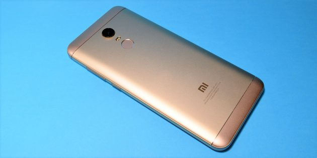 Xiaomi Redmi 5 Plus: задняя крышка