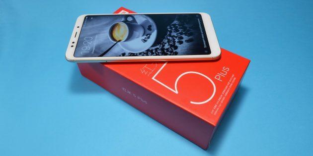 Xiaomi Redmi 5 Plus: внешний вид