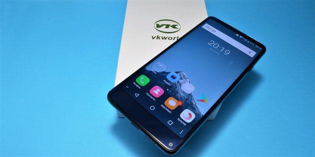 VKworld S8: внешний вид