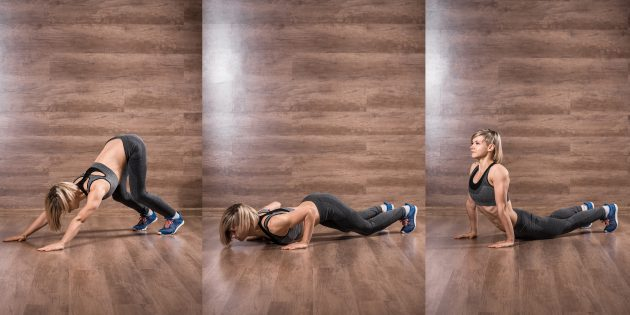 эффективные упражнения: Индийские отжимания