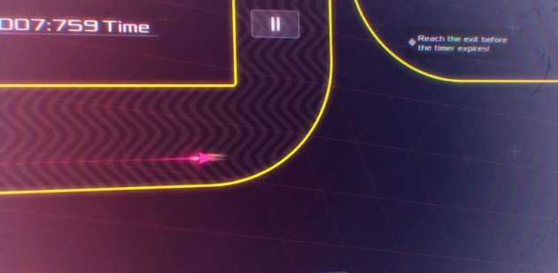 Data Wing — неоновая аркада, вдохновлённая фантастикой 80-х