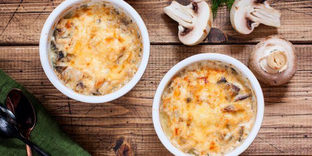 Классический жюльен с курицей и грибами: лучший рецепт