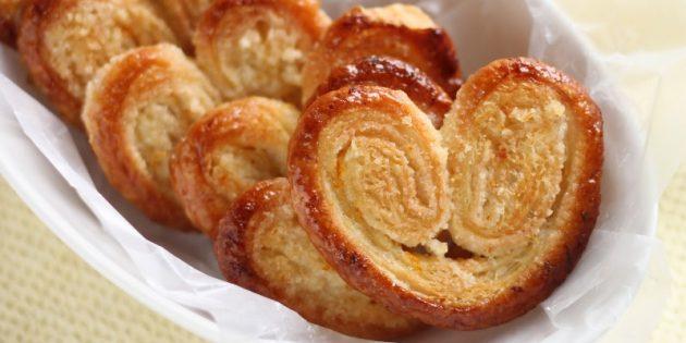 Рецепты вкусного печенья: Классическое слоёное печенье