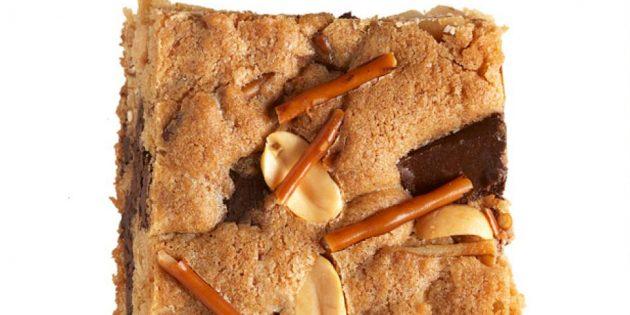 Рецепты вкусного печенья: Печенье с арахисом и солёной соломкой