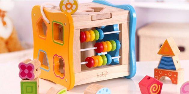 Как научить ребёнка считать: Играйте в сортеры