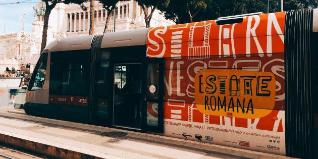 путешествие по Италии: трамвай