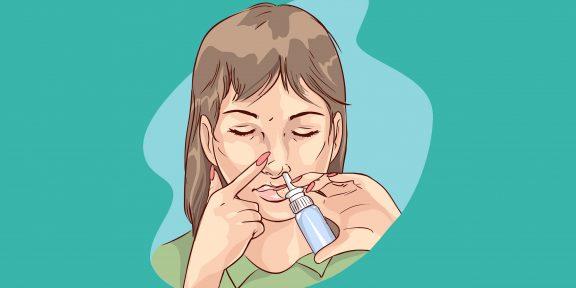 Как правильно пользоваться спреем для носа: пошаговая инструкция
