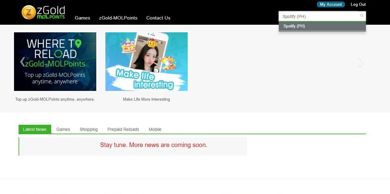 Филиппинский аккаунт Spotify