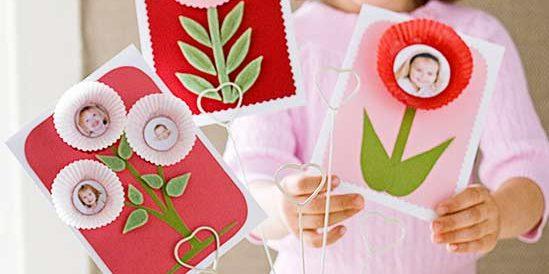 Подарки на 8 Марта своими руками: Фоторамка из бумажных тарталеток