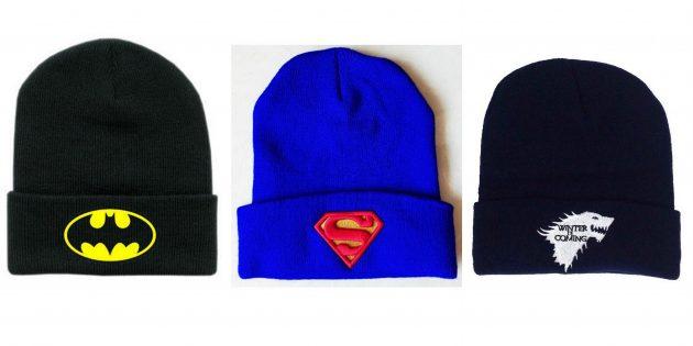недорогие подарки на 23 февраля: шапка