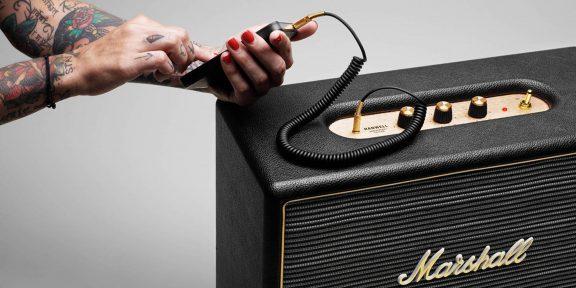 Колонка и наушники Marshall: как звучит новая продукция старой компании