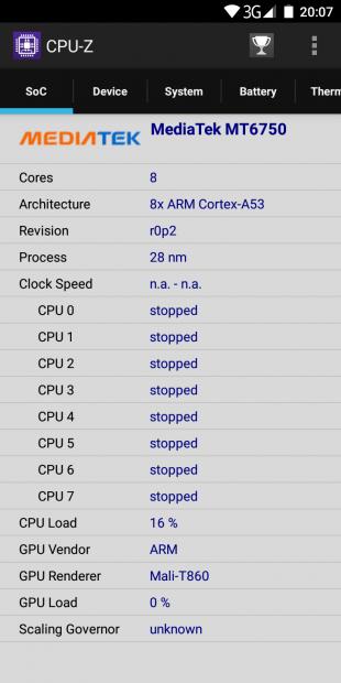 Maze Comet: процессор
