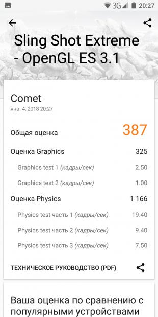 Maze Comet: 3DMark
