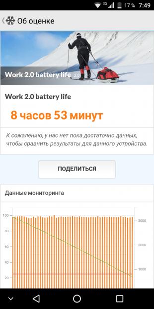 VKworld S8: автономность